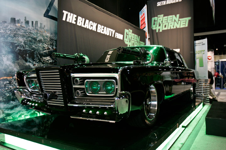 The Black Beauty. The Green Hornet