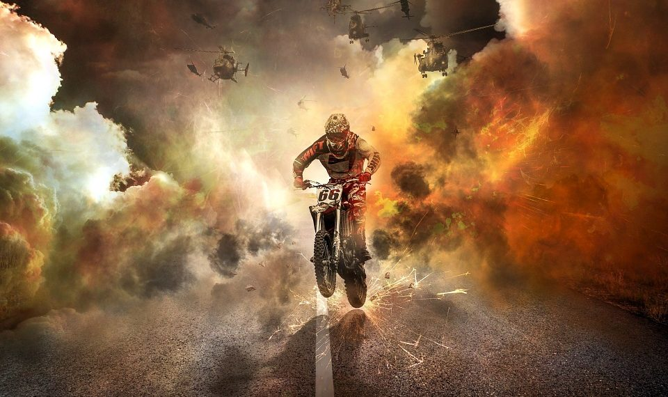 explosiones combustible en cine